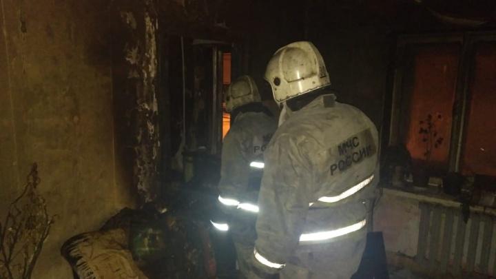 Спасти удалось только одну: при пожаре в Нижнем Тагиле пострадали две женщины