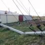 Разрушения по всей области: Южный Урал охвачен ураганным ветром