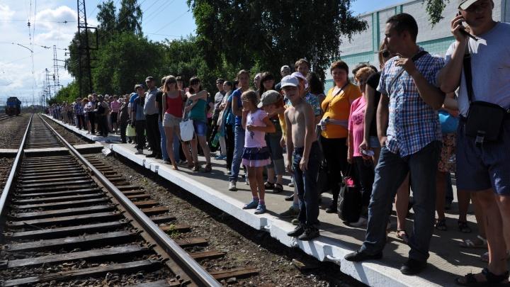 «Экспресс-пригород» пустит дополнительные электрички на авиашоу в Мочище
