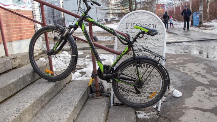 «Продавал их прохожим за бесценок»: в Архангельске раскрыли серию велосипедных краж