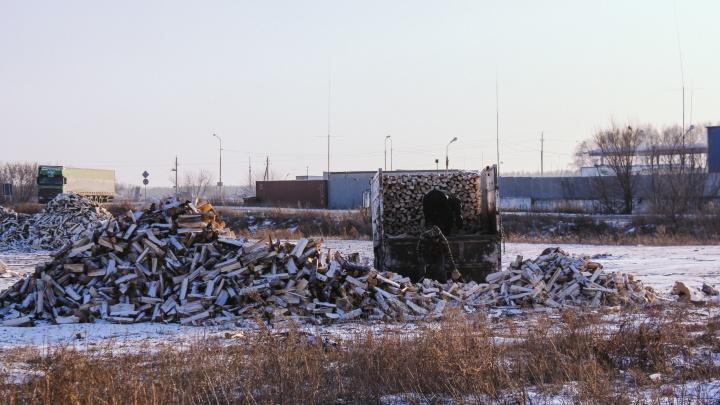 В северных районах Омской области из-за отключения газа подорожали дрова и уголь