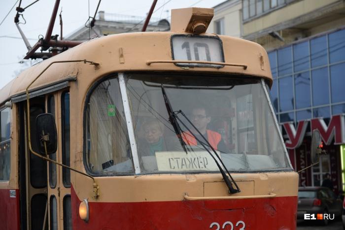 В Екатеринбурге перенесут трамвайную остановку «Дворец молодёжи»