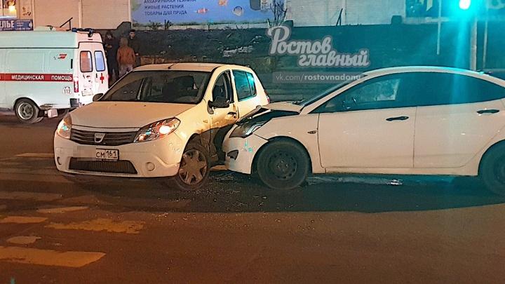 Не пропустил и отправился в больницу: на Темернике столкнулись два автомобиля