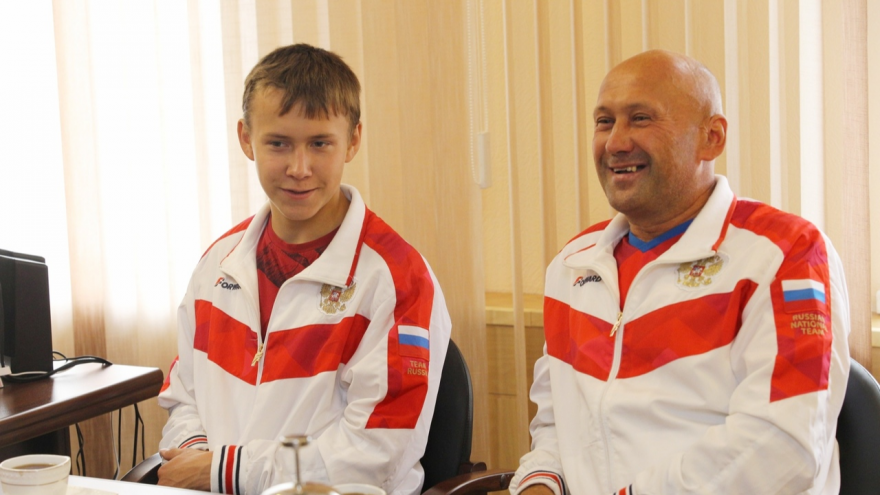 Коношский спортсмен Никита Мамонтов привёз золото с первенства Европы по гиревому спорту