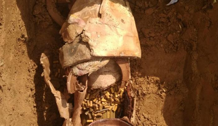 В Уфе нашли взрывоопасный боеприпас