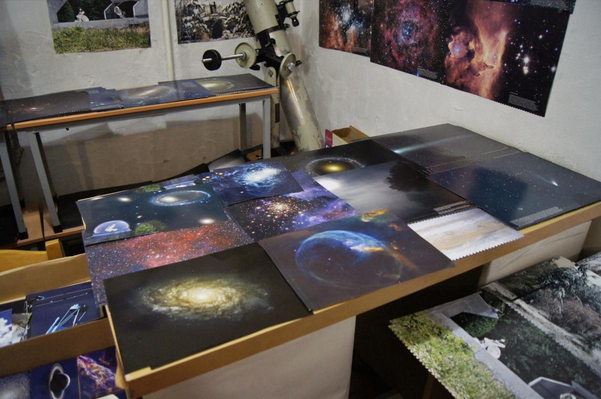 Созвездия, туманности, далекие галактики — как на ладони! Или как на столе