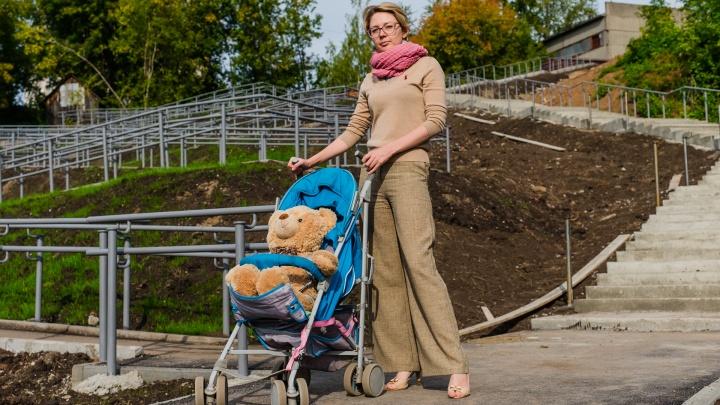 Тест-драйв с коляской и медведем: проверяем переход-зигзаг между Юбилейным и Владимирским в Перми