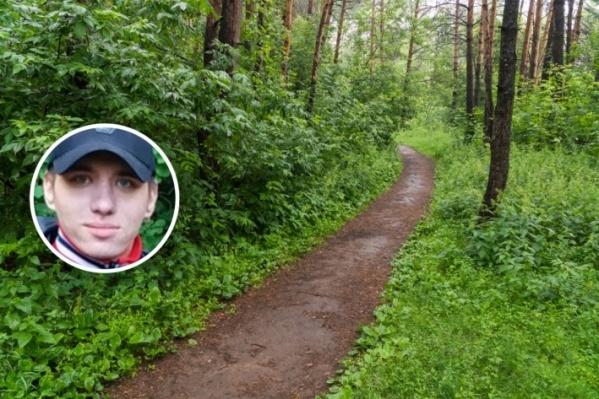 Молодого человека искали на территории Балатовского парка