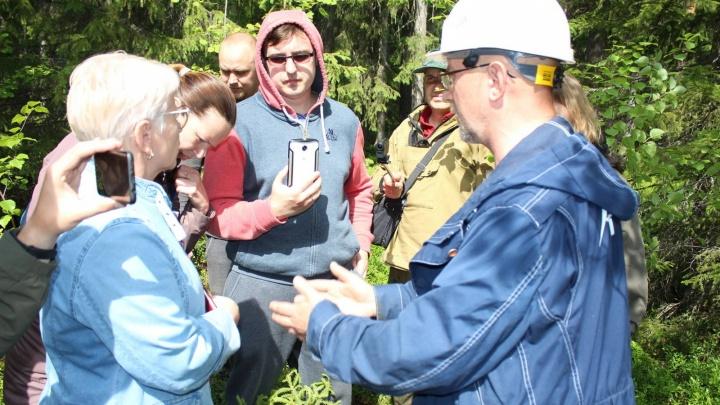 Первые итоги изысканий близ Катунино. Чиновники говорят, что эта земля подходит для полигона ТКО