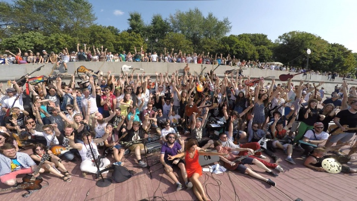 На рок-флешмобе в Ярославле одновременно выступят больше ста музыкантов