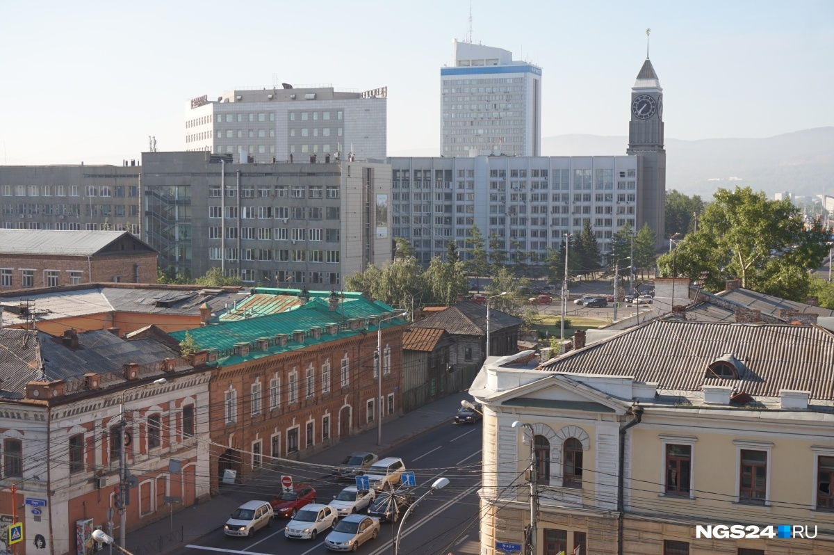 Вцентре Красноярска снесут три аварийных дома
