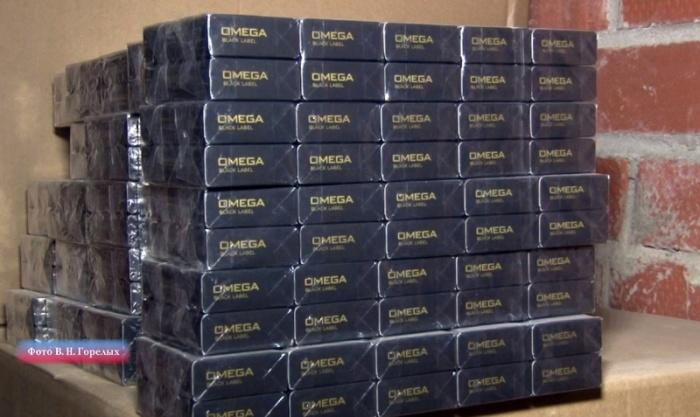Склад табачной продукции находился в гараже на улице Крестинского