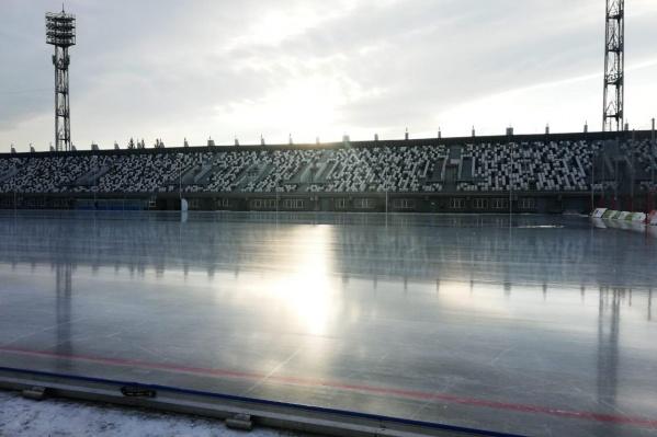 На стадионе два года назад прошла масштабная реконструкция