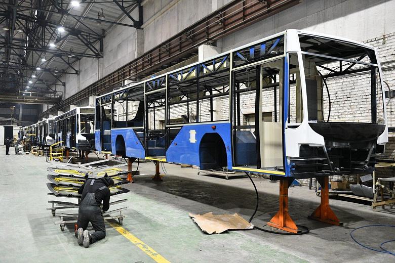 Троллейбусы вологодского завода закупают города из разных точек России