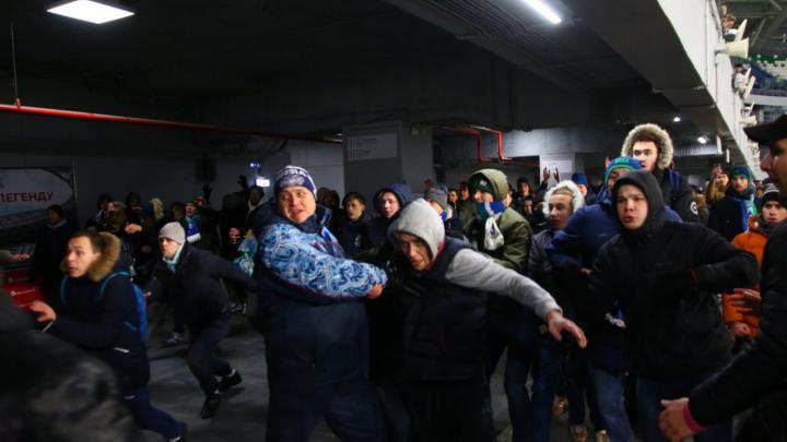 «Крылья Советов» оштрафовали на полмилллиона рублей из-за драки болельщиков на «Самара Арене»
