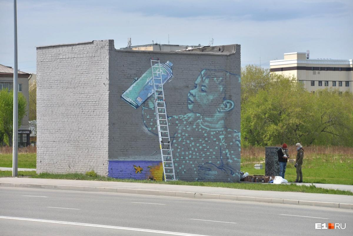 «Стенограффия-2018»: смотрим, как фестиваль уличного искусства преобразил Екатеринбург