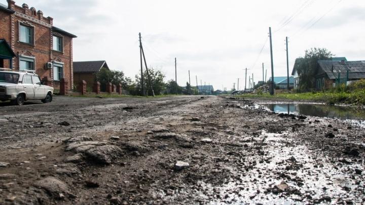 В Половинском районе Зауралья под угрозой срыва оказался ремонт дорог и социальных объектов