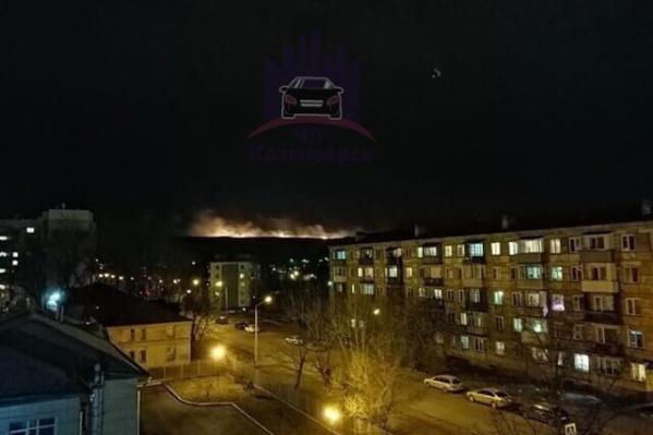 Пожар произошел вечером 2 апреля