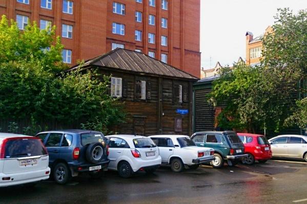 Дом, где раньше работал Ленин, облюбовали бомжи