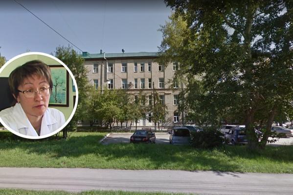 Посетитель пришёл в кабинет заместителя главврача Бердской ЦГБ по медицинской части Надежды Шахатовой и напал на неё