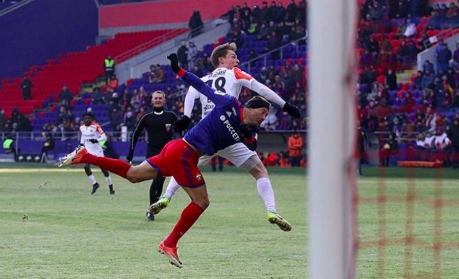 ЦСКА под началом Гончаренко спобеды возобновил чемпионат РФ после зимней паузы