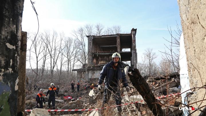 Изображая жертву: в уфимской Припяти отрепетировали спасательную операцию
