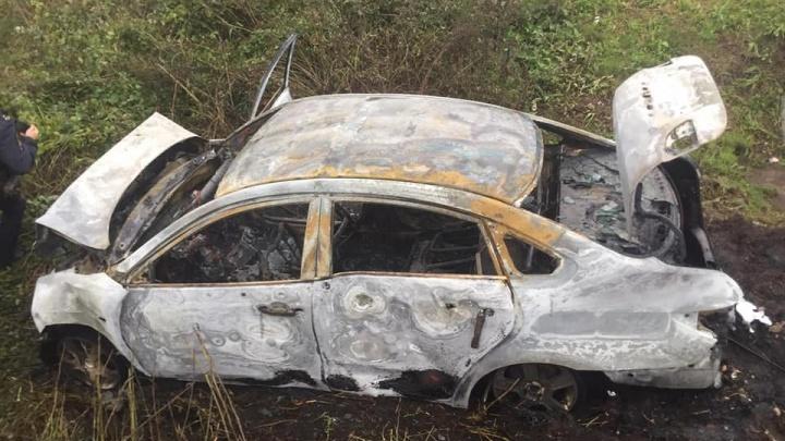 Вспыхнула на глазах у всех: в Башкирии столкнулись две иномарки, шесть человек пострадали