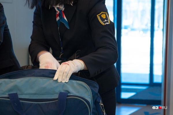 Багаж проверяли у пассажиров из стран СНГ