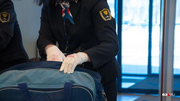 Опасны для самарцев: в аэропорту Курумоч сожгли 151 килограмм фруктов, овощей и орехов