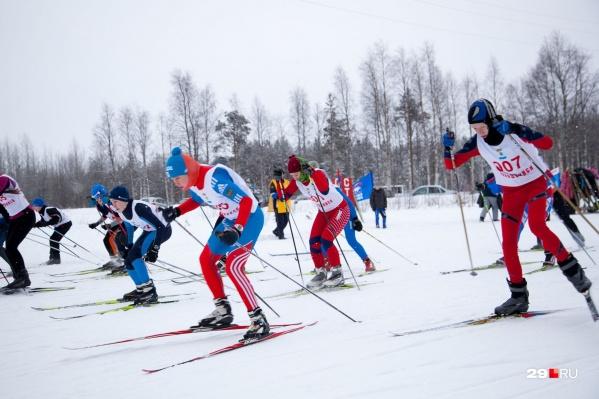 Одно из главных мероприятий этих выходных в Архангельске — «Лыжня России 2020»