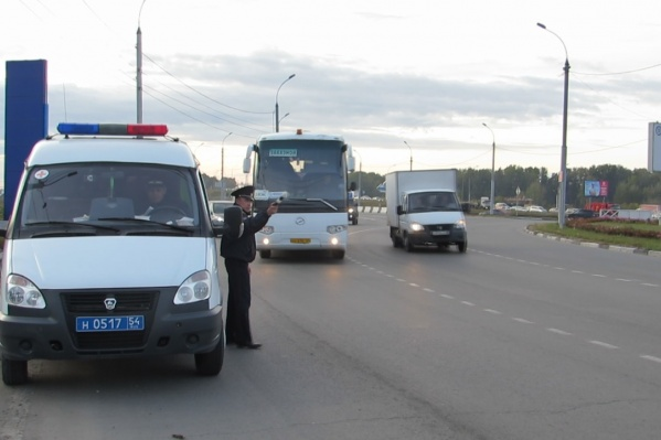 Около десятка водителей автобусов попались с нарушениями
