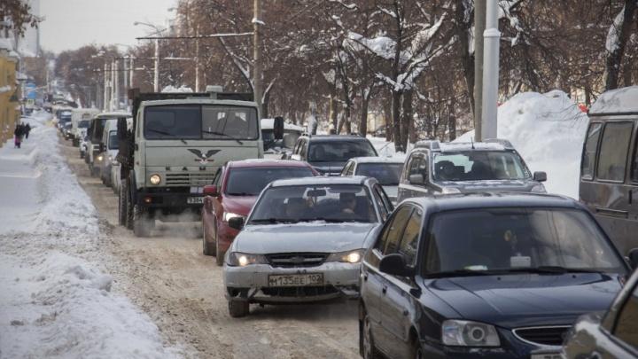 Уфа попала в мировой рейтинг по загруженности дорог
