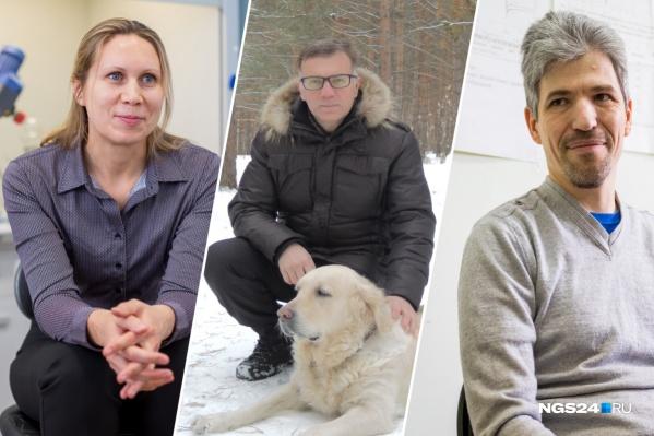 Трое красноярских ученых рассказали о своей работе и личной жизни