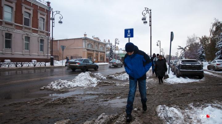 Не сыпь мне соль на тротуар: колонка журналиста 72.RU о том, почему лучший город Земли утопает в грязи