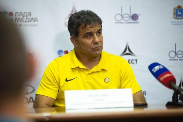 Эта игра станет первой для главного тренера ГК «Ростов-Дон» Амброса Мартина