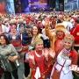 Самый массовый хоровод: уфимцы танцевали в национальных костюмах