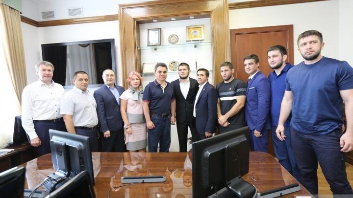 Хабиб Нурмагомедов: Уфа очень чистый, зеленый и красивый город