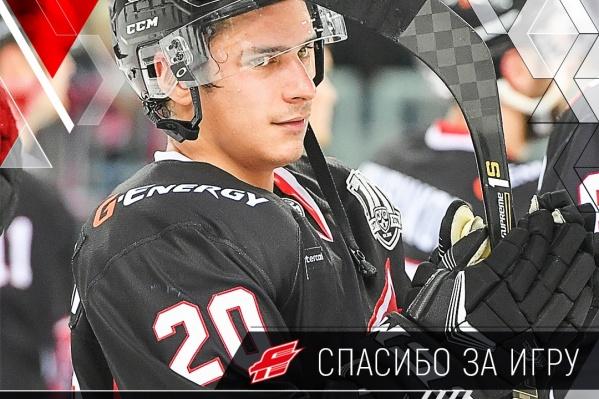 В составе «Авангарда» Петерссон оформил свой первый хет-трик в КХЛ