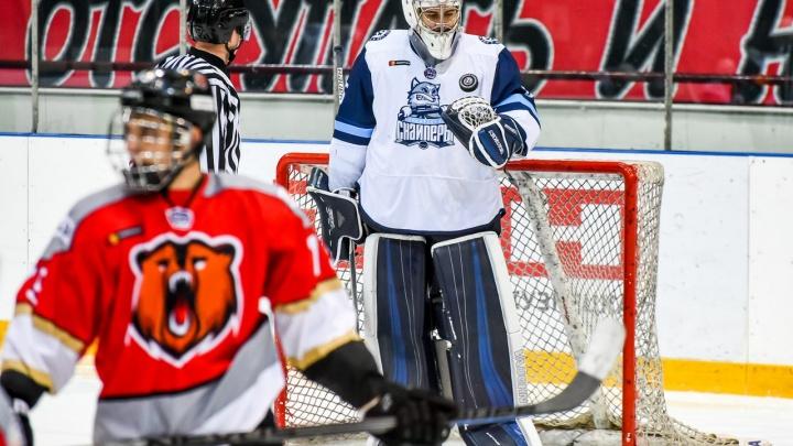 Хоккей: «Сибирские снайперы» победили «Кузнецких медведей»