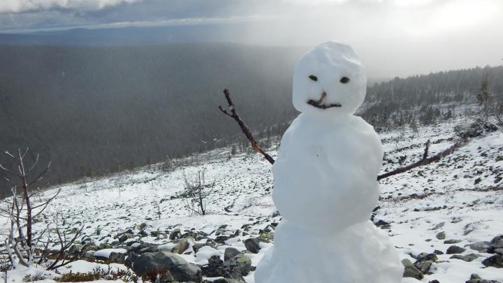Зима здесь: первая снежная фотоподборка из Перми и Прикамья