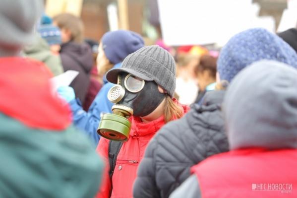 В Кировском районе в разгар отопительного сезона наблюдался наибольший уровень загрязнения