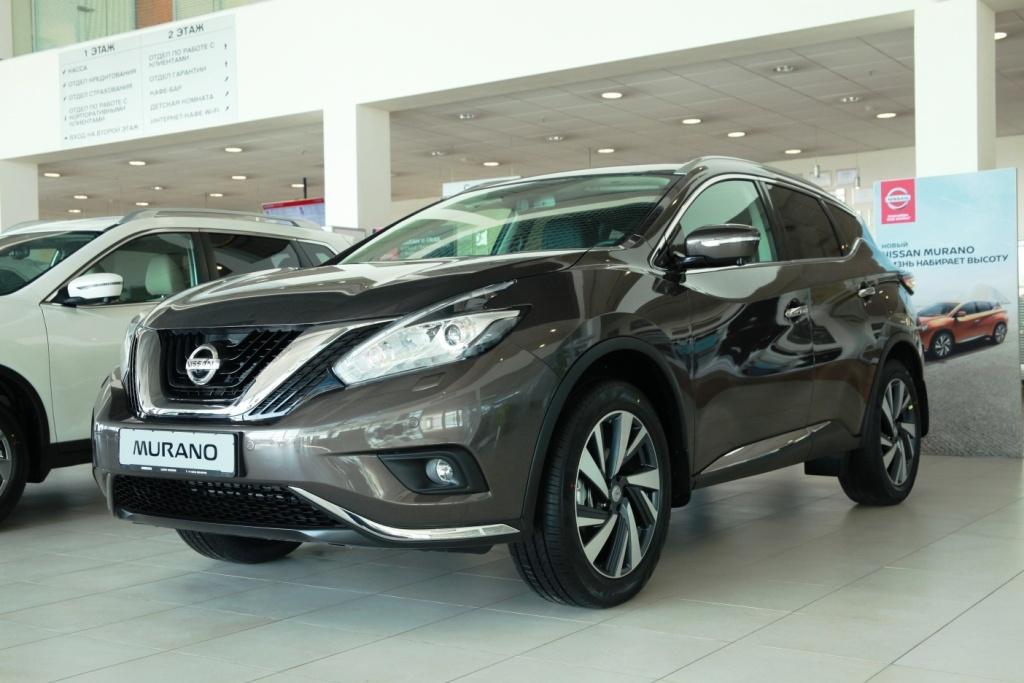 Nissan Murano: цена от 2 163 000 руб., выгода до 630 000 руб., кредит от 0,1%**