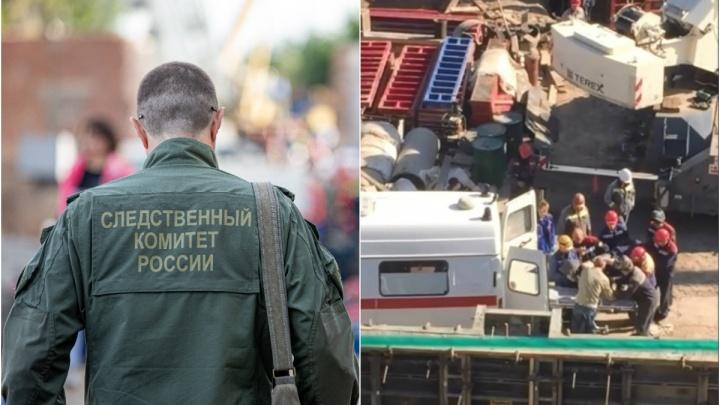 Следователи начали проверку на стройплощадке, где второй раз за месяц пострадали рабочие
