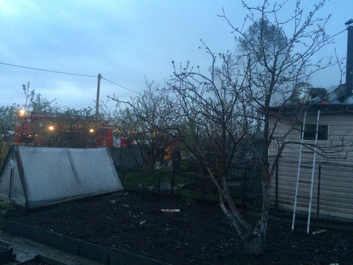 В доме под Нижним Тагилом сгорела семья с тремя детьми