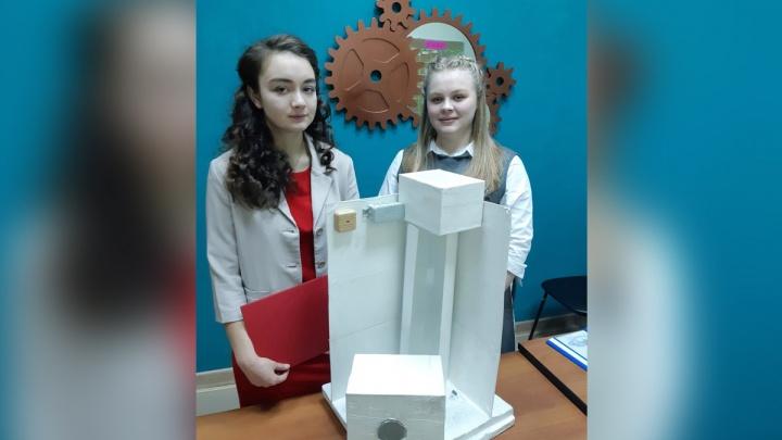 Красноярские школьники придумали, как избавить многоэтажки от запаха мусоропровода
