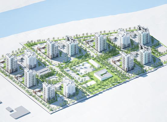 Сбербанк профинансировал строительство нового жилого района от группы компаний «Энко»