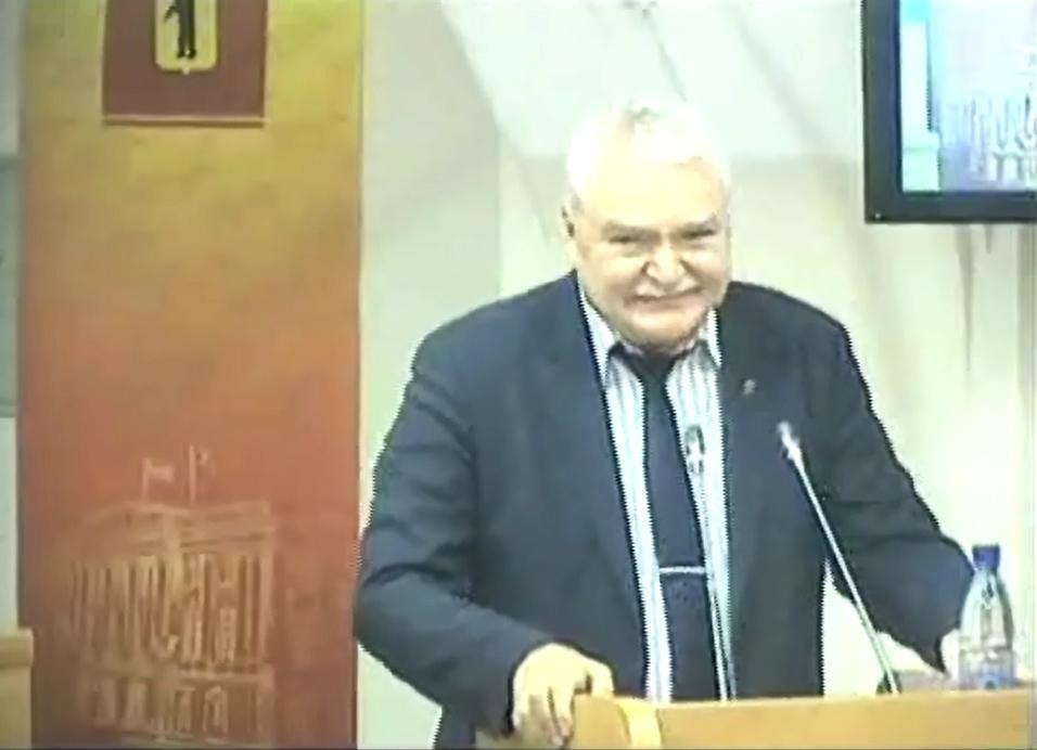 Николай Александрычев постоянно напоминал своим однопартийцам, как надо голосовать