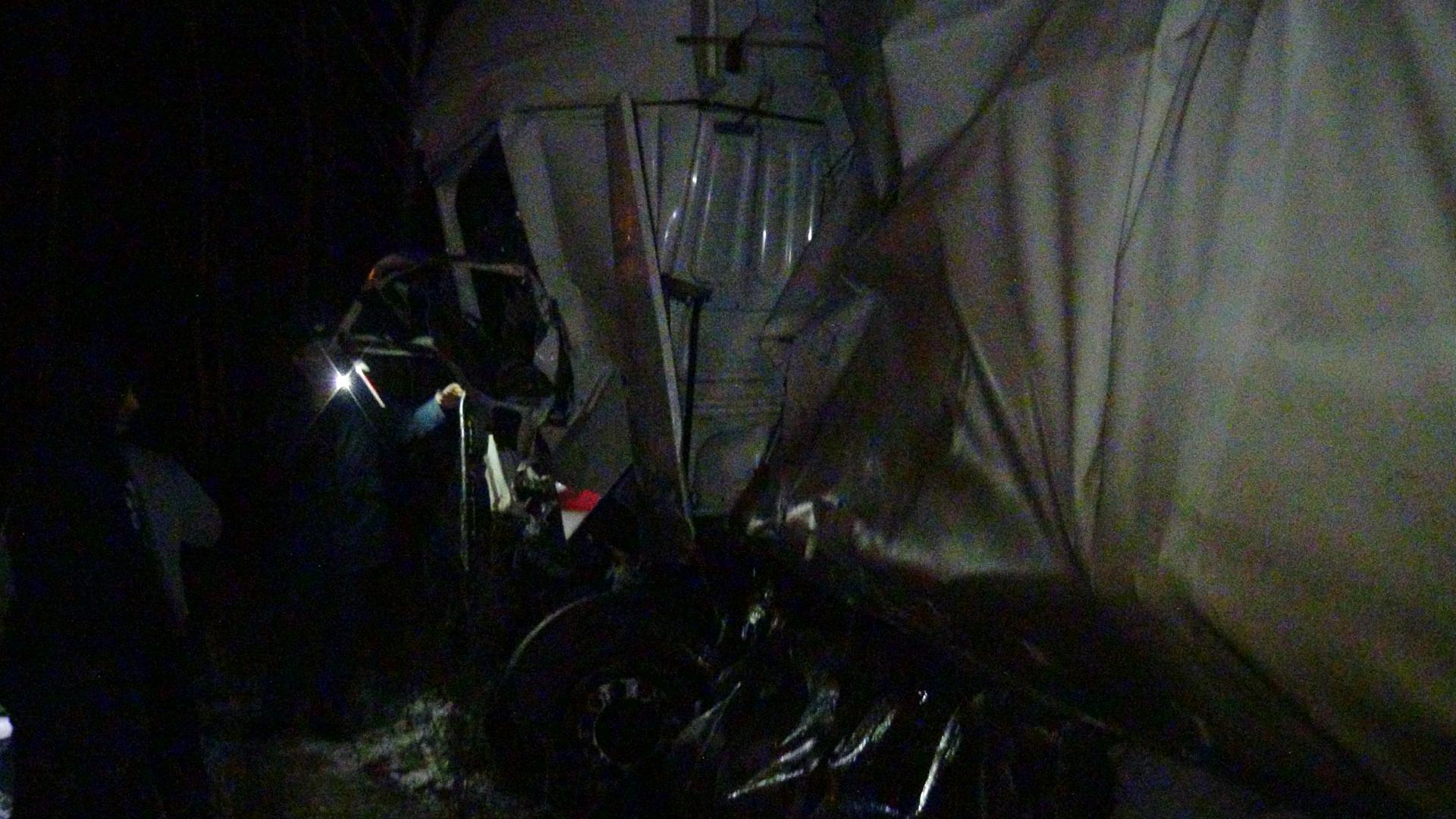 Двое водителей с тяжелыми травмами в больнице