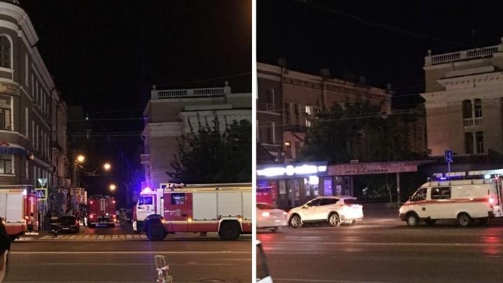 Два человека получили травмы при взрыве баллона с фреоном в центре Ростова
