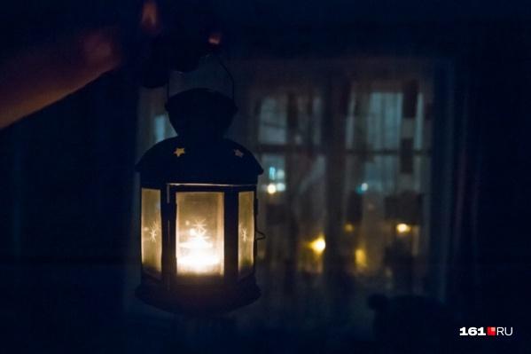 Без света в понедельник и вторник останутся тысячи ростовчан